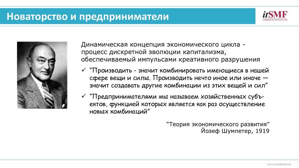 www.itsmforum.ru Новаторство и предприниматели ...