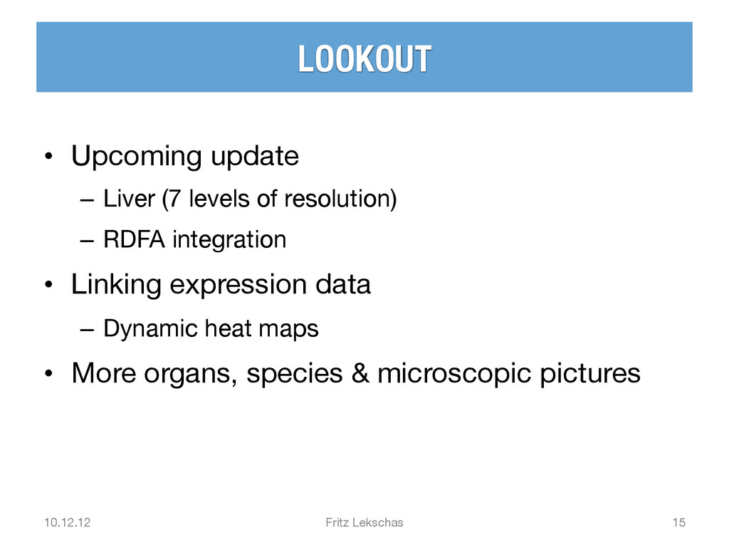 LOOKOUT • Upcoming update – Liver (7 levels...
