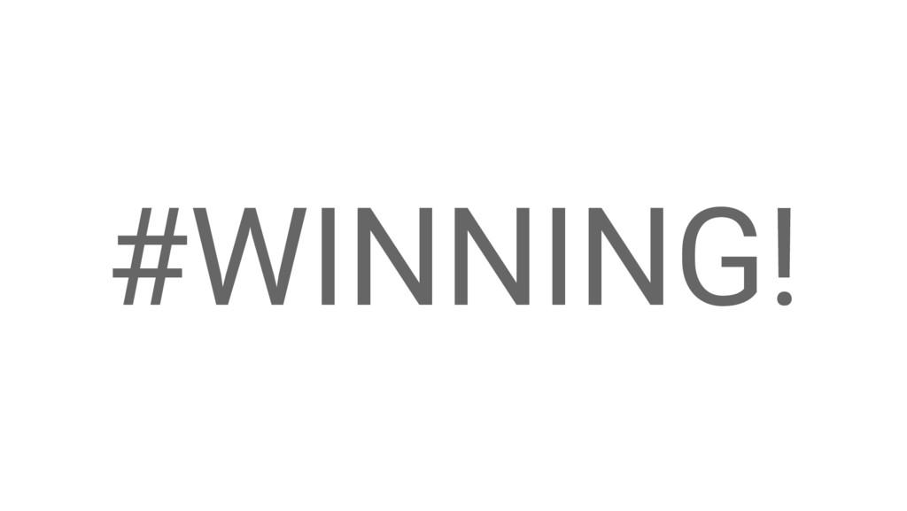 Google Cloud Platform #WINNING!