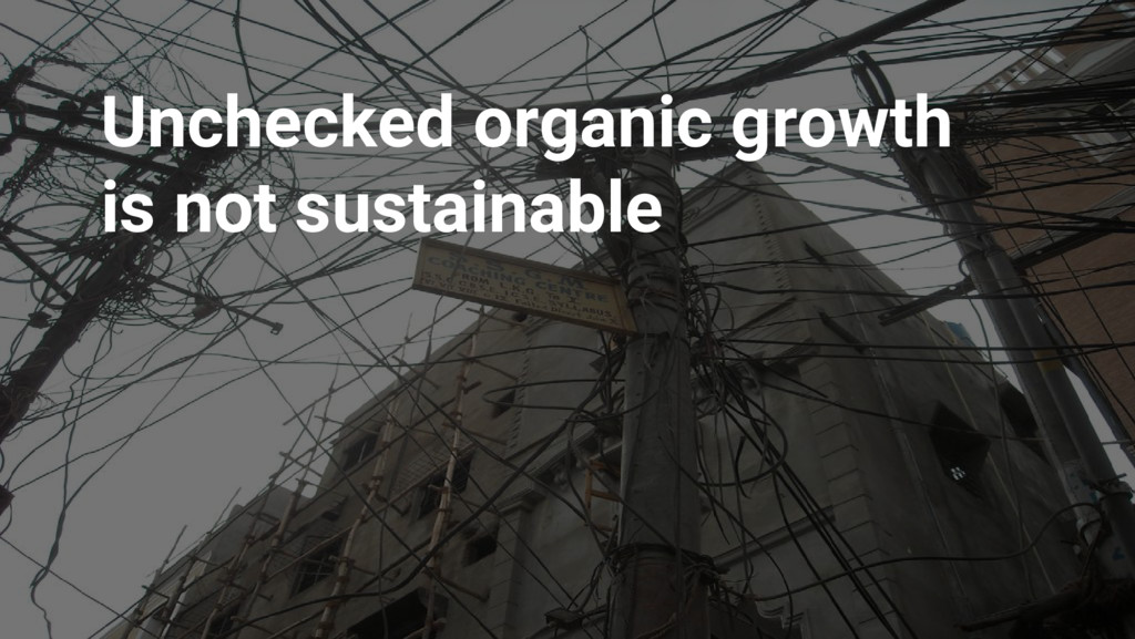 Google Cloud Platform Unchecked organic growth ...
