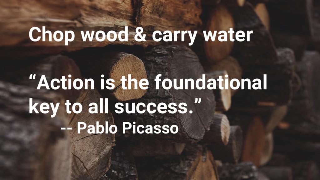 "Google Cloud Platform Chop wood & carry water ""..."