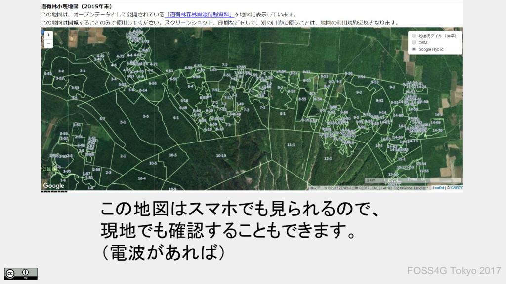 この地図はスマホでも見られるので、 現地でも確認することもできます。 (電波があれば) FOS...
