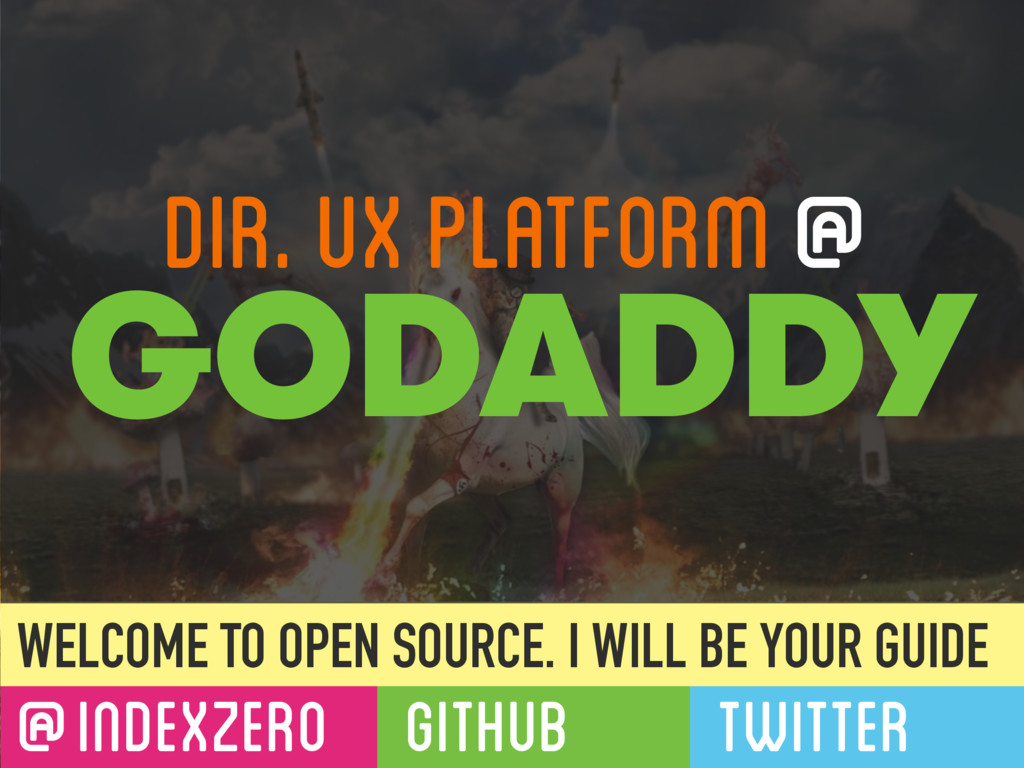 @INDEXZERO GITHUB TWITTER WELCOME TO OPEN SOURC...