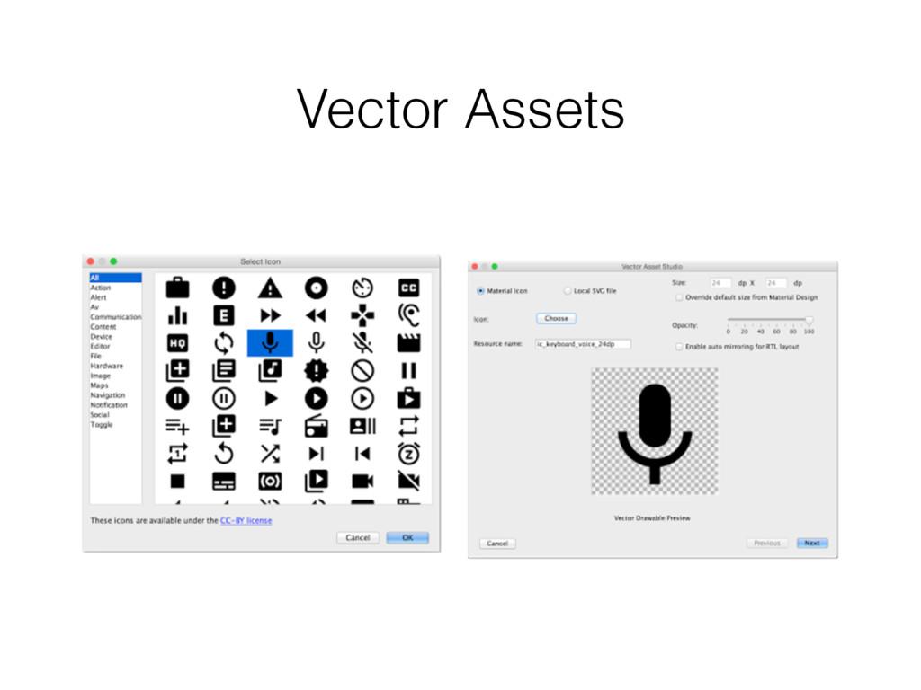 Vector Assets