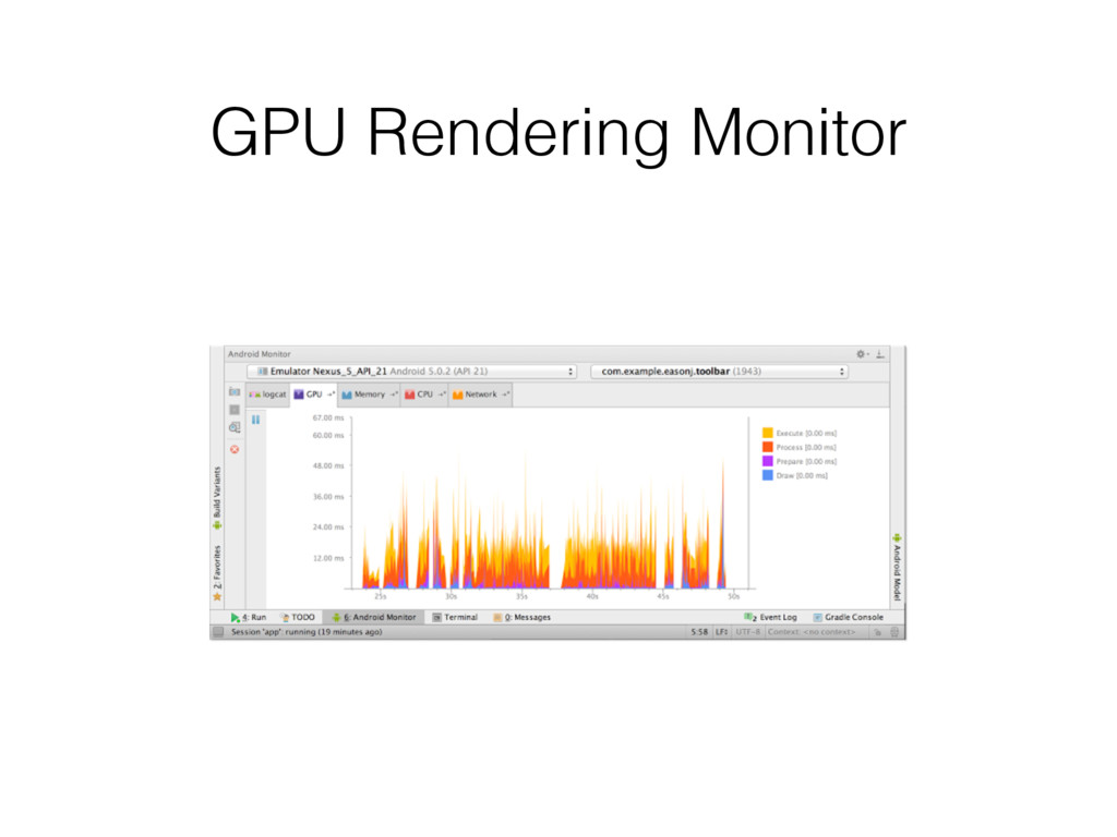 GPU Rendering Monitor