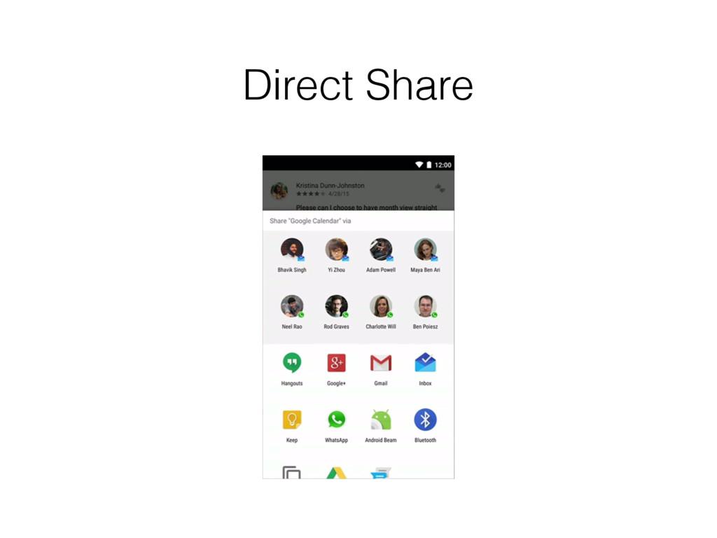 Direct Share
