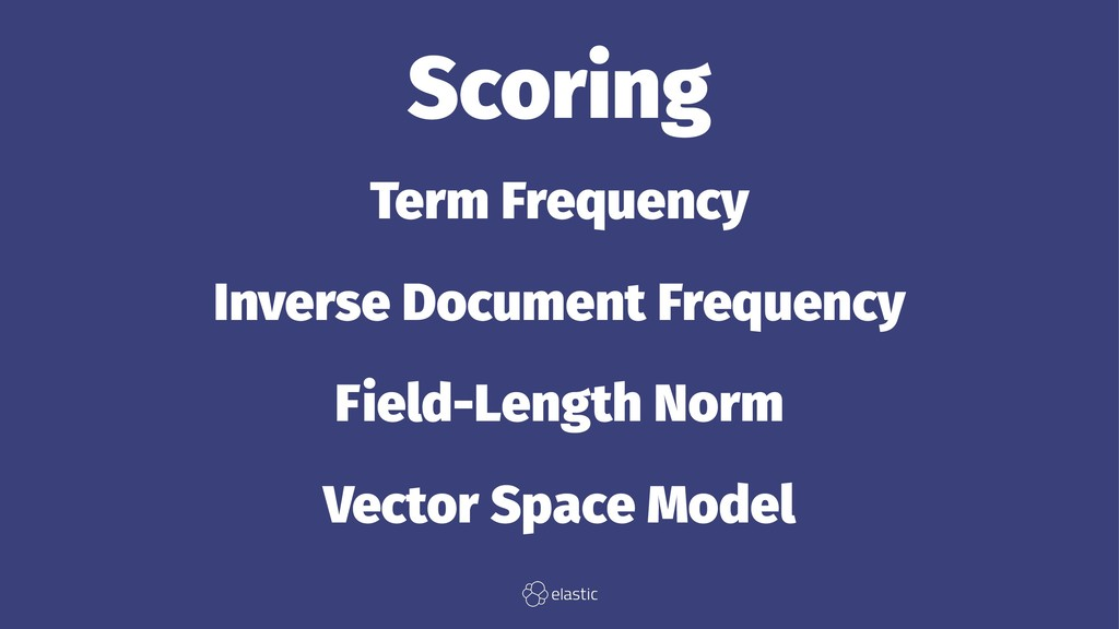 Scoring Term Frequency Inverse Document Frequen...