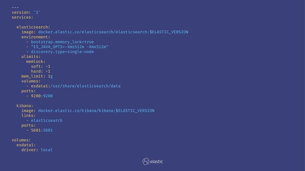 --- version: '2' services: elasticsearch: image...