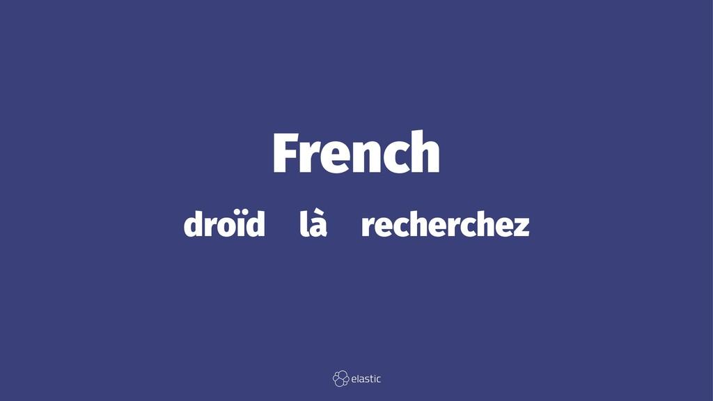 French droïd̴là̴recherchez