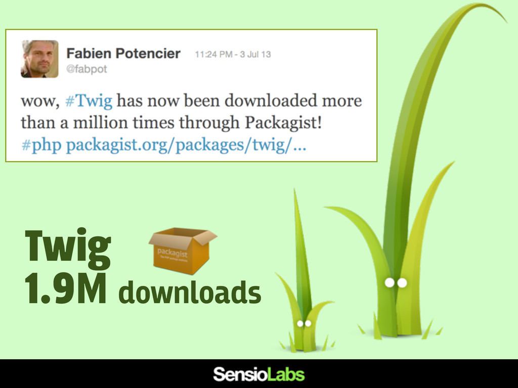 Twig 1.9M downloads