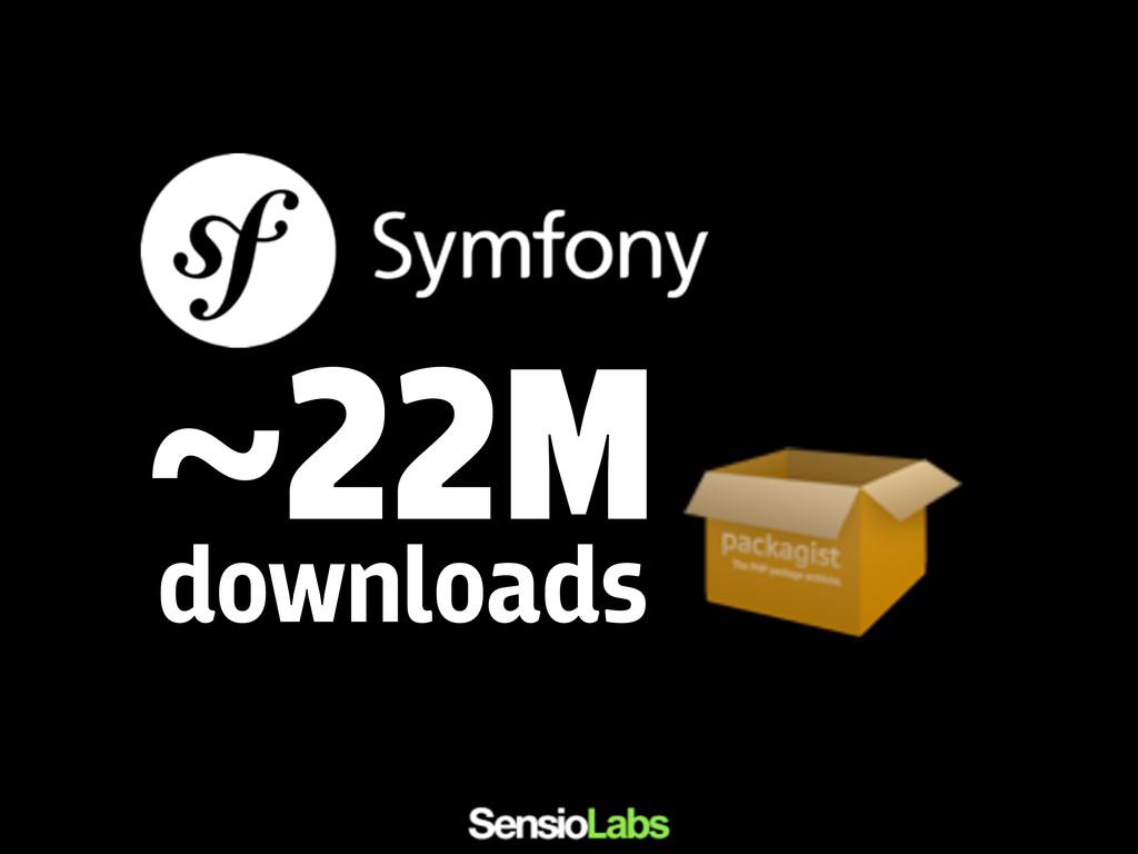 ~22M downloads