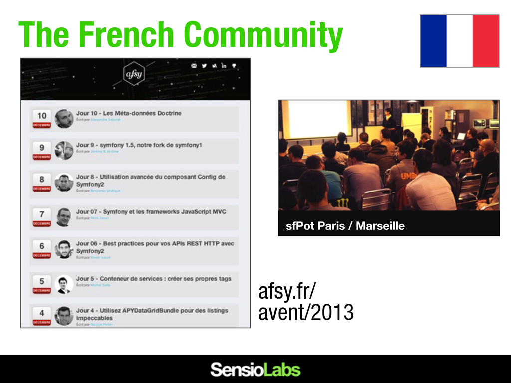 The French Community afsy.fr/ avent/2013 sfPot ...
