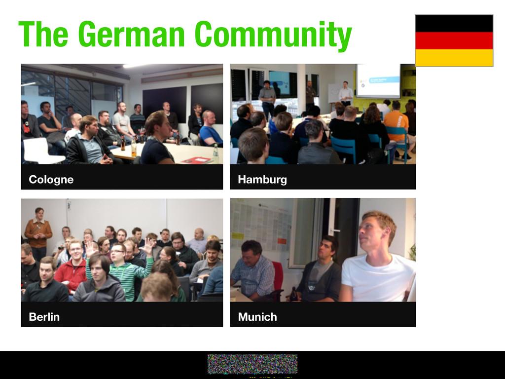 The German Community Hamburg Cologne Berlin Mun...