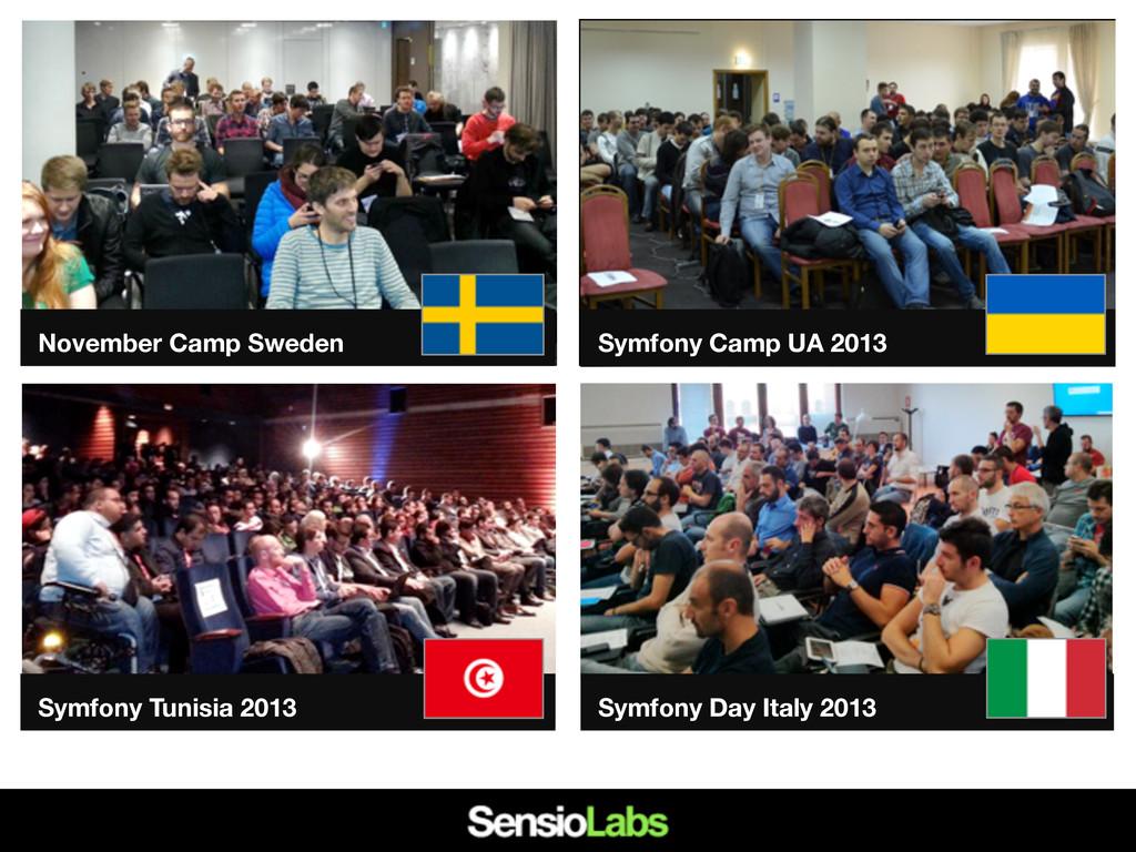 Symfony Camp UA 2013 Symfony Tunisia 2013 Symfo...
