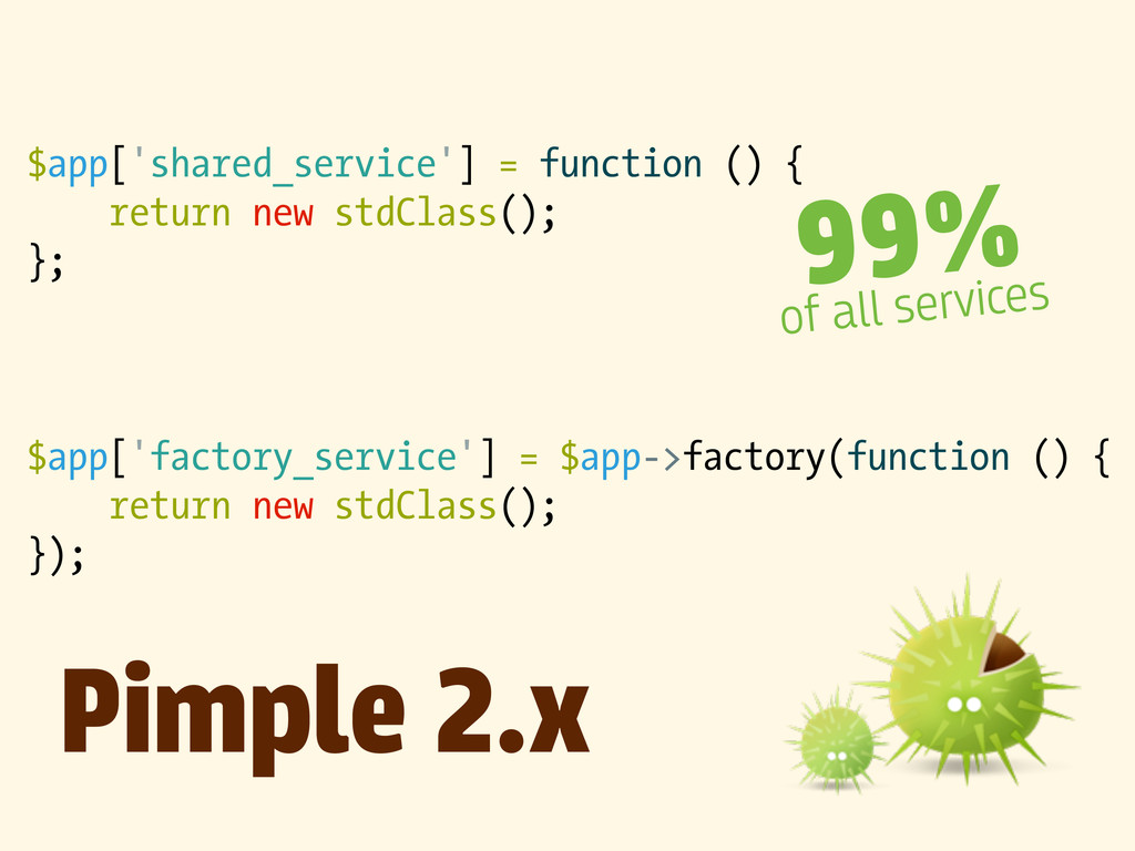 $app['shared_service'] = function () { return n...