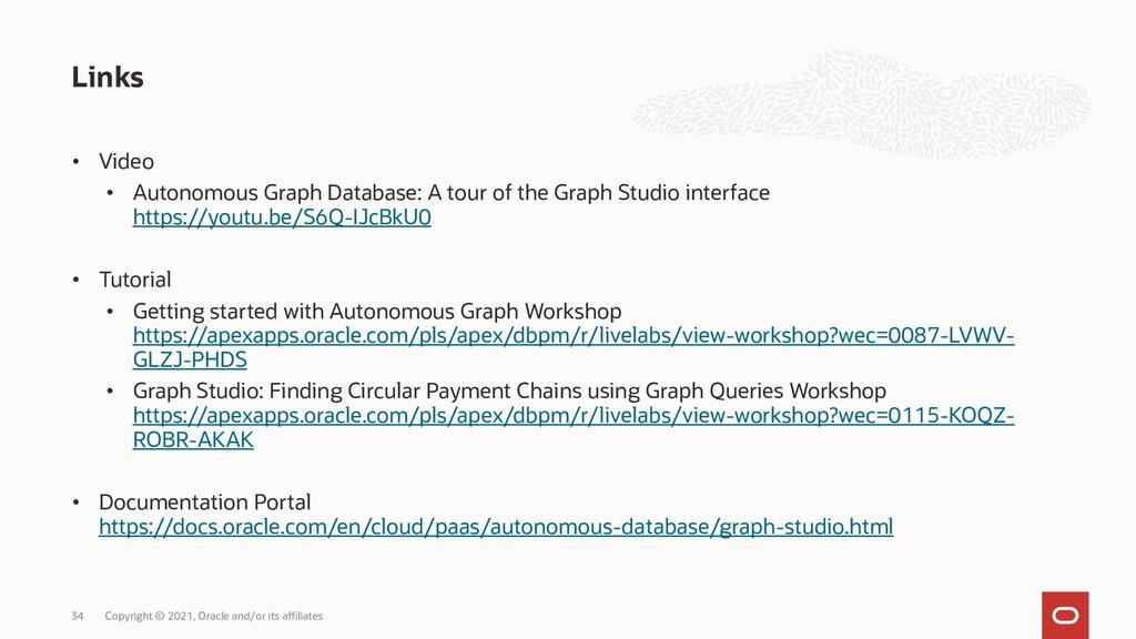 • Video • Autonomous Graph Database: A tour of ...