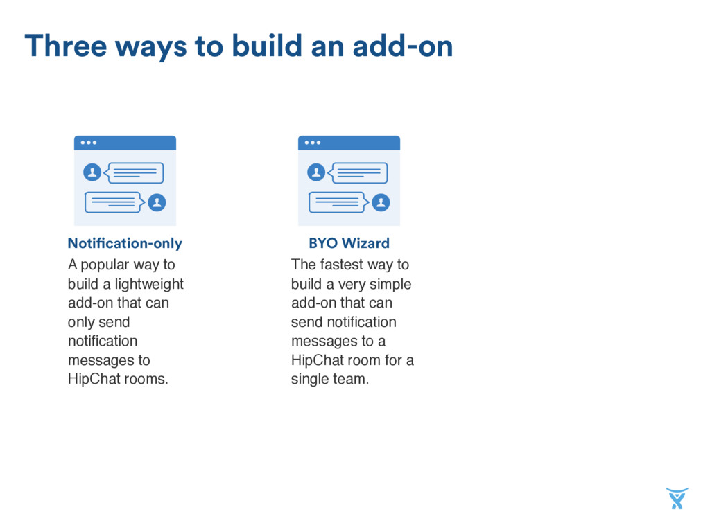BYO Wizard Notification-only Three ways to buil...