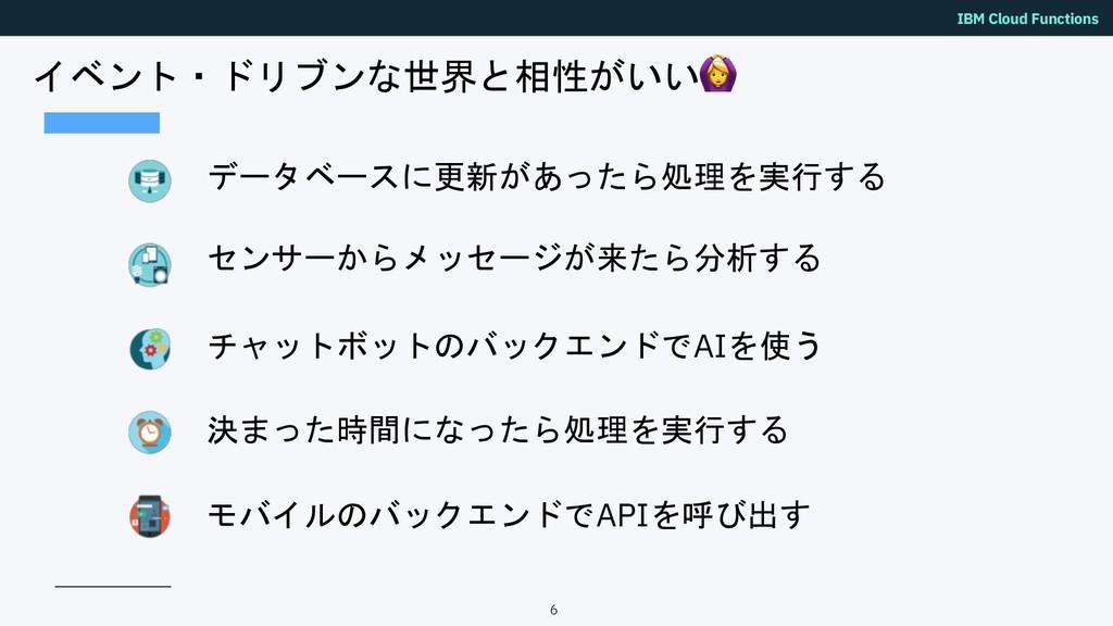 """IBM Cloud Functions """")*'!),; <3! +""""+..."""