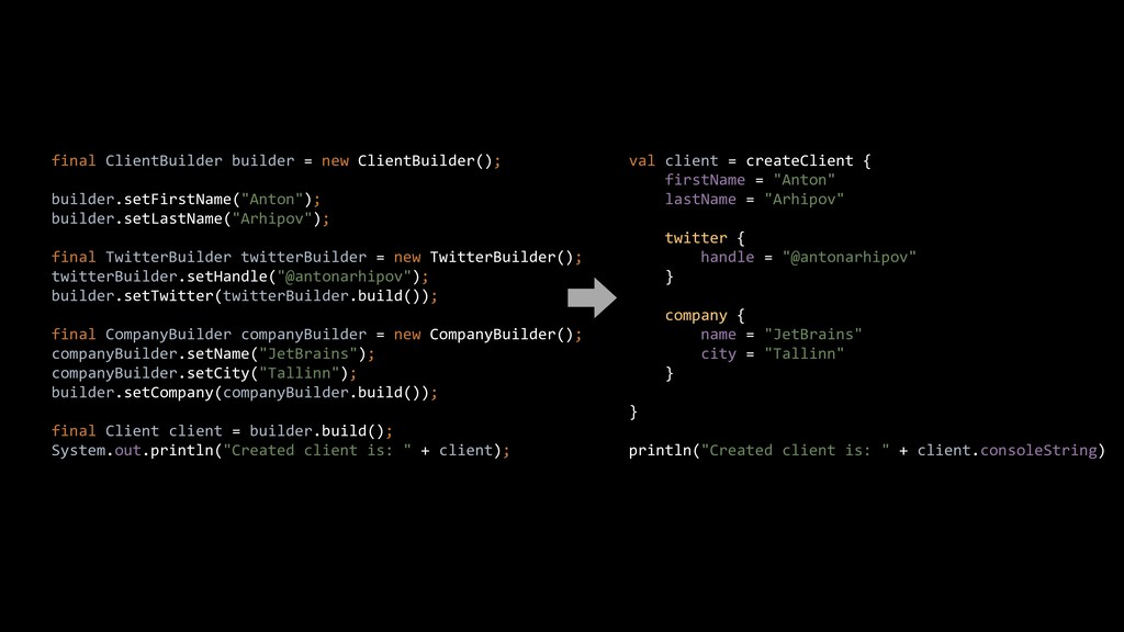 final ClientBuilder builder = new ClientBuilder...