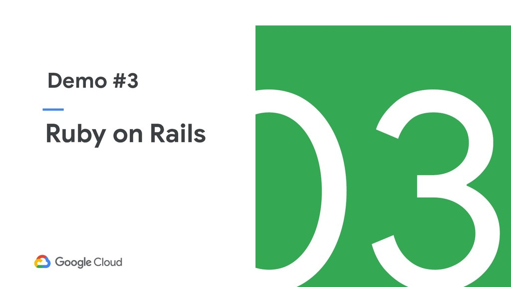 Ruby on Rails Demo #3