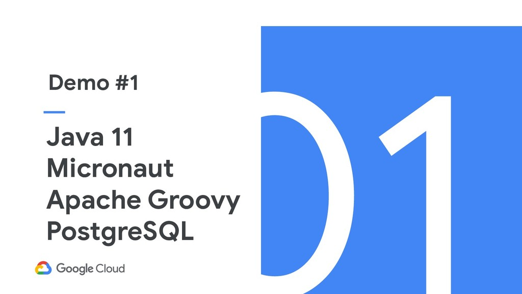 Java 11 Micronaut Apache Groovy PostgreSQL Demo...
