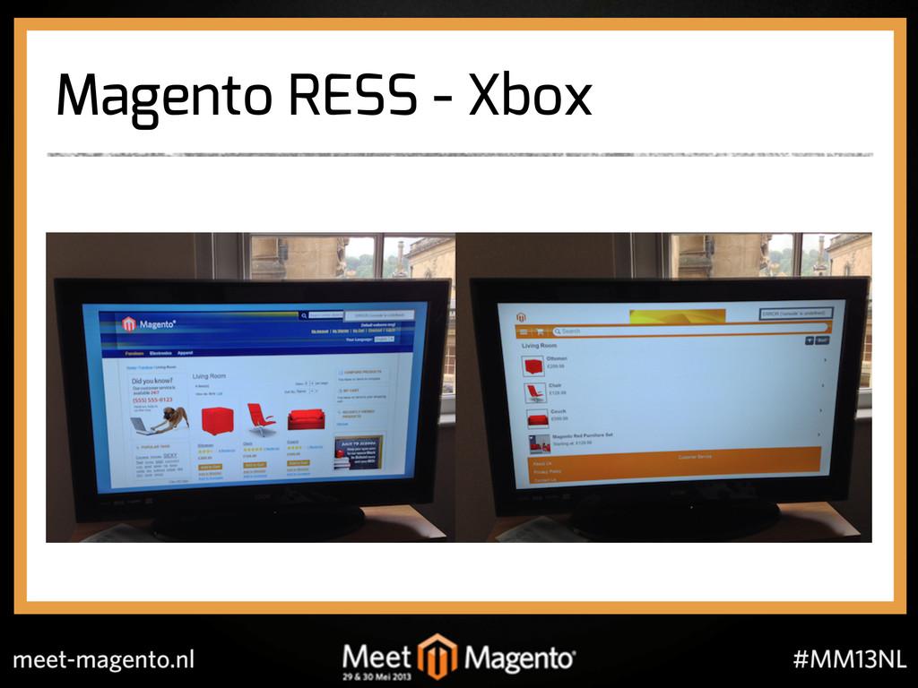 Magento RESS - Xbox