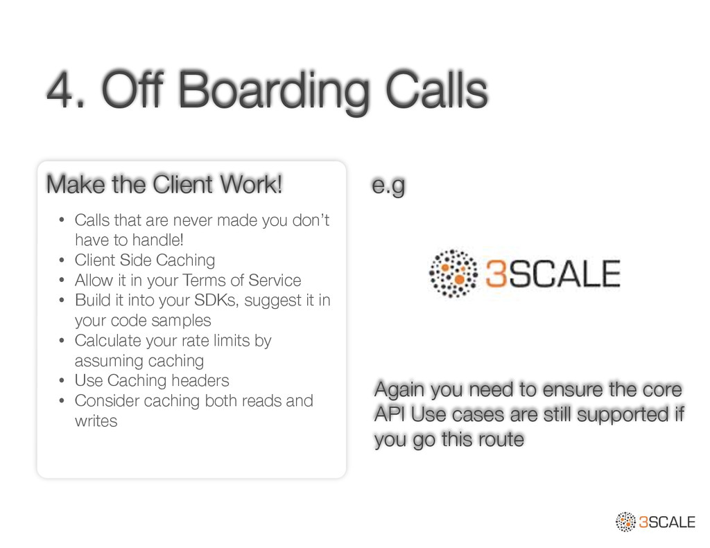 4. Off Boarding Calls • Calls that are never ma...