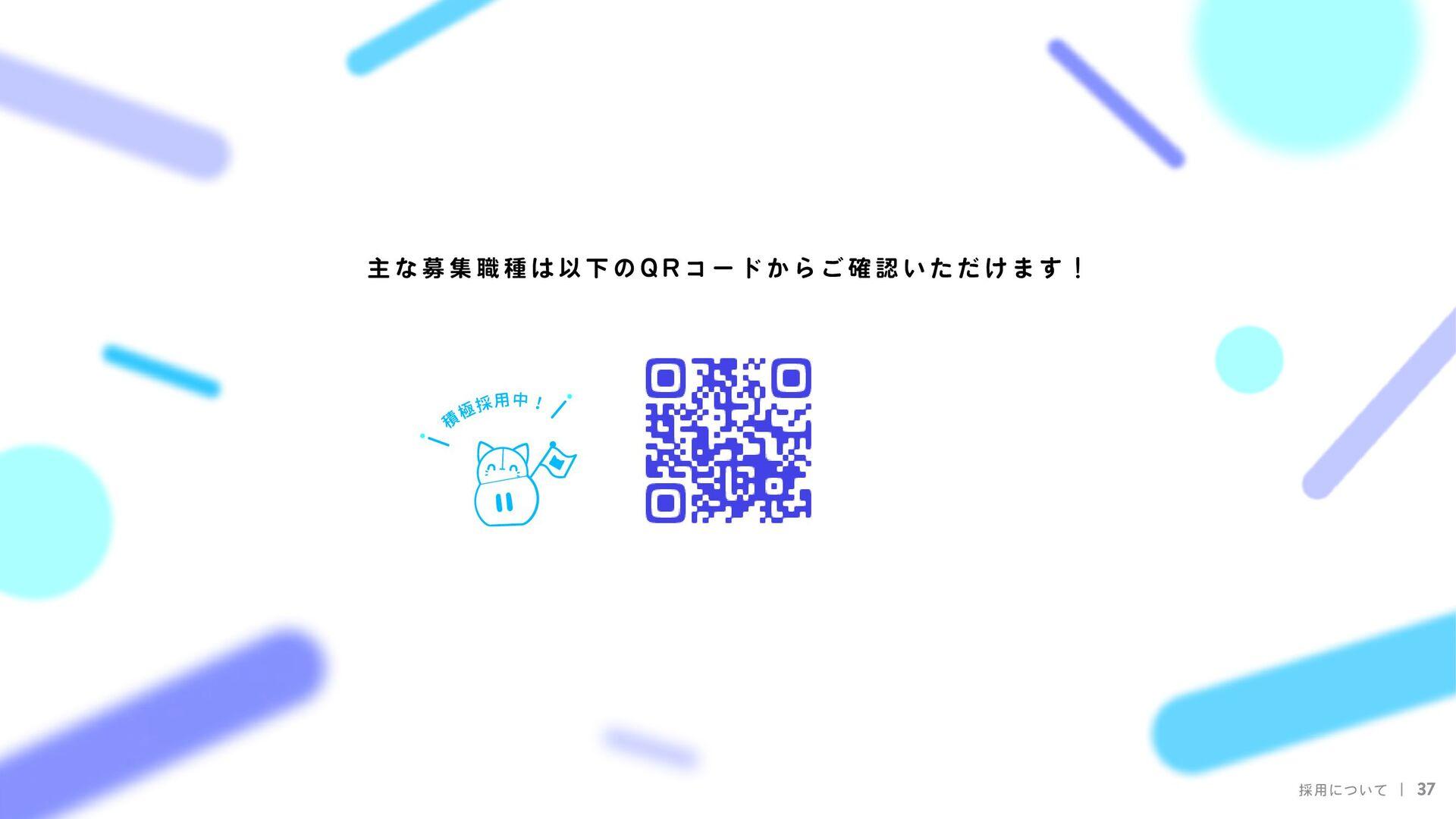 採用について 37 I R I A M Unityエンジニア  2Dアニメーションデザイナー ...