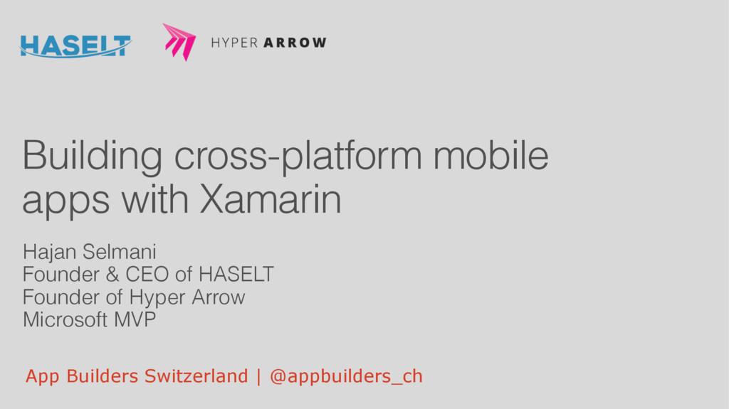 App Builders Switzerland | @appbuilders_ch Buil...