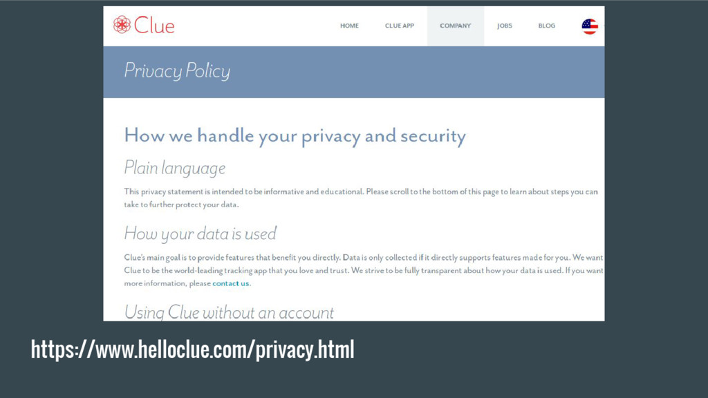 https://www.helloclue.com/privacy.html
