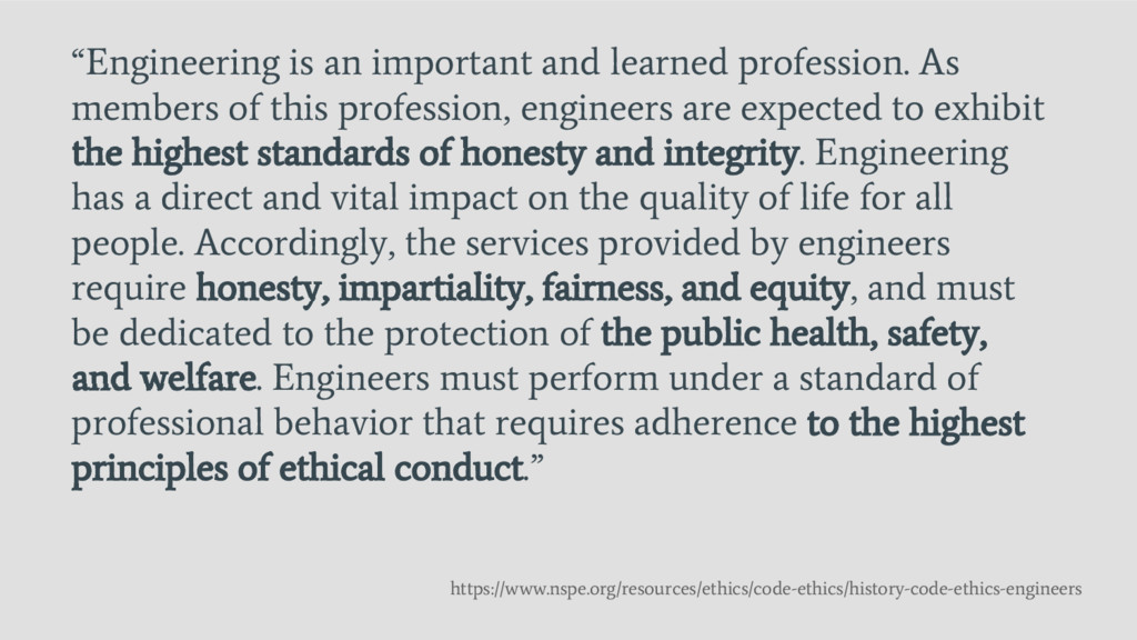 """Engineering is an important and learned profes..."