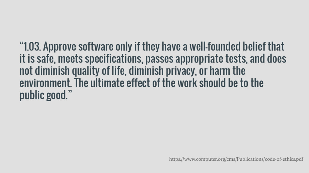 """1.03. Approve software only if they have a wel..."