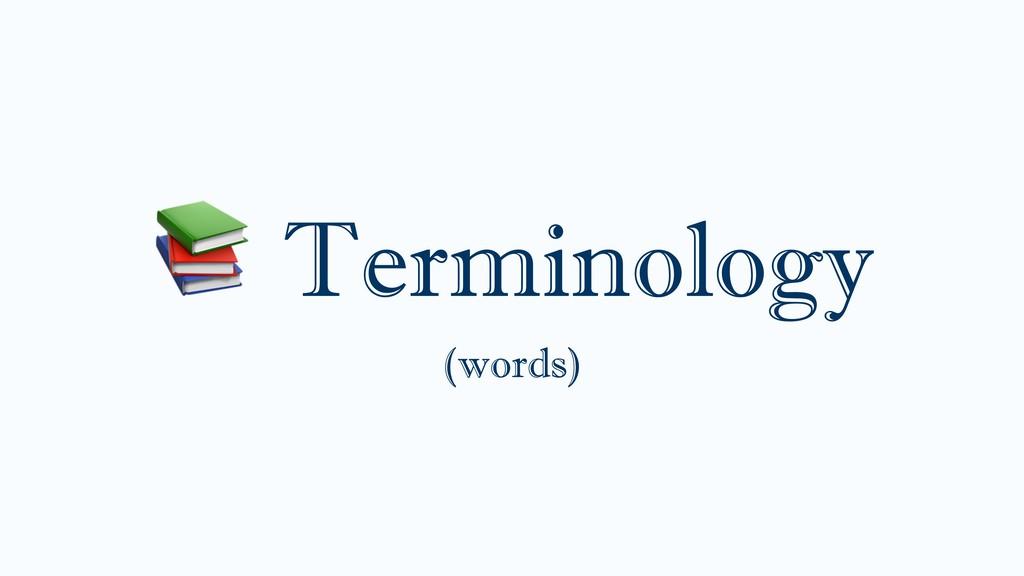 Terminology (words)