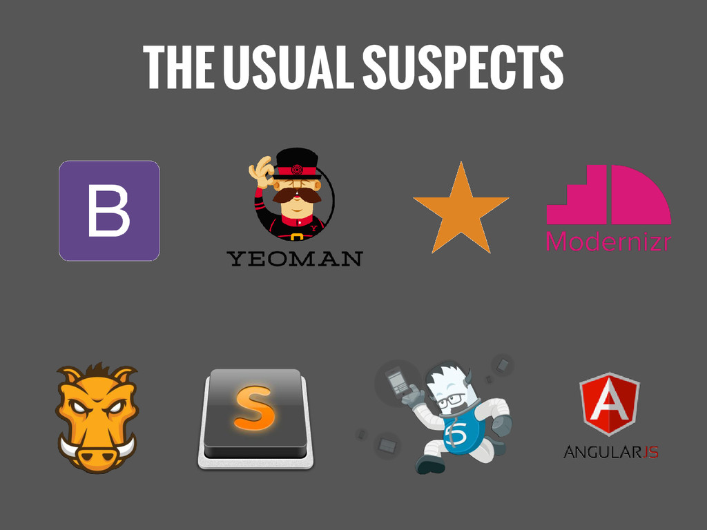 THE USUAL SUSPECTS ★