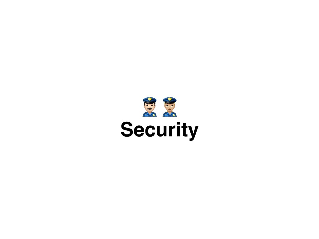 Security %&