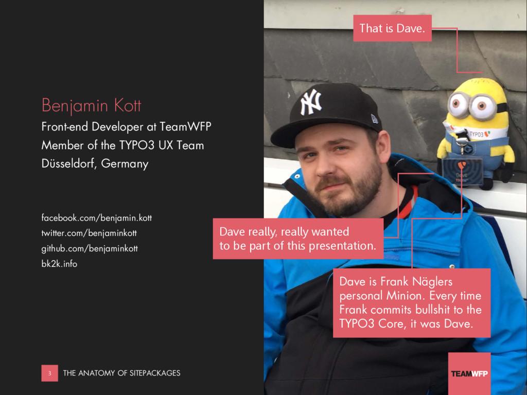 Benjamin Kott Front-end Developer at TeamWFP Me...