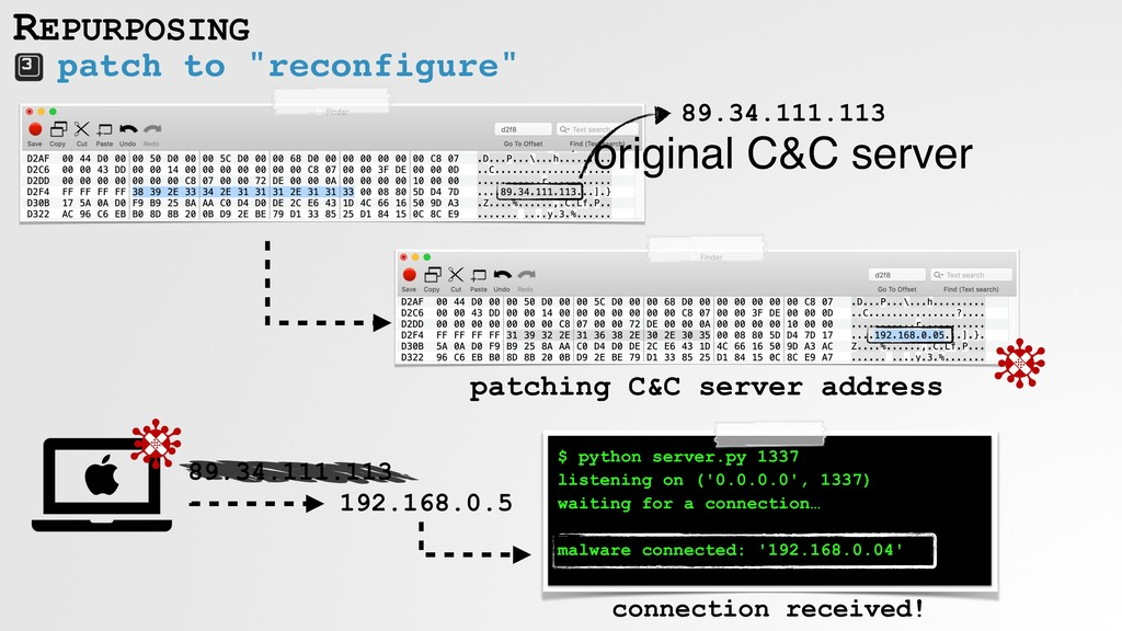 "patch to ""reconfigure"" REPURPOSING $ python ser..."