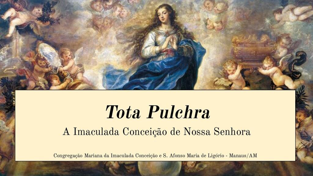Tota Pulchra A Imaculada Conceição de Nossa Sen...