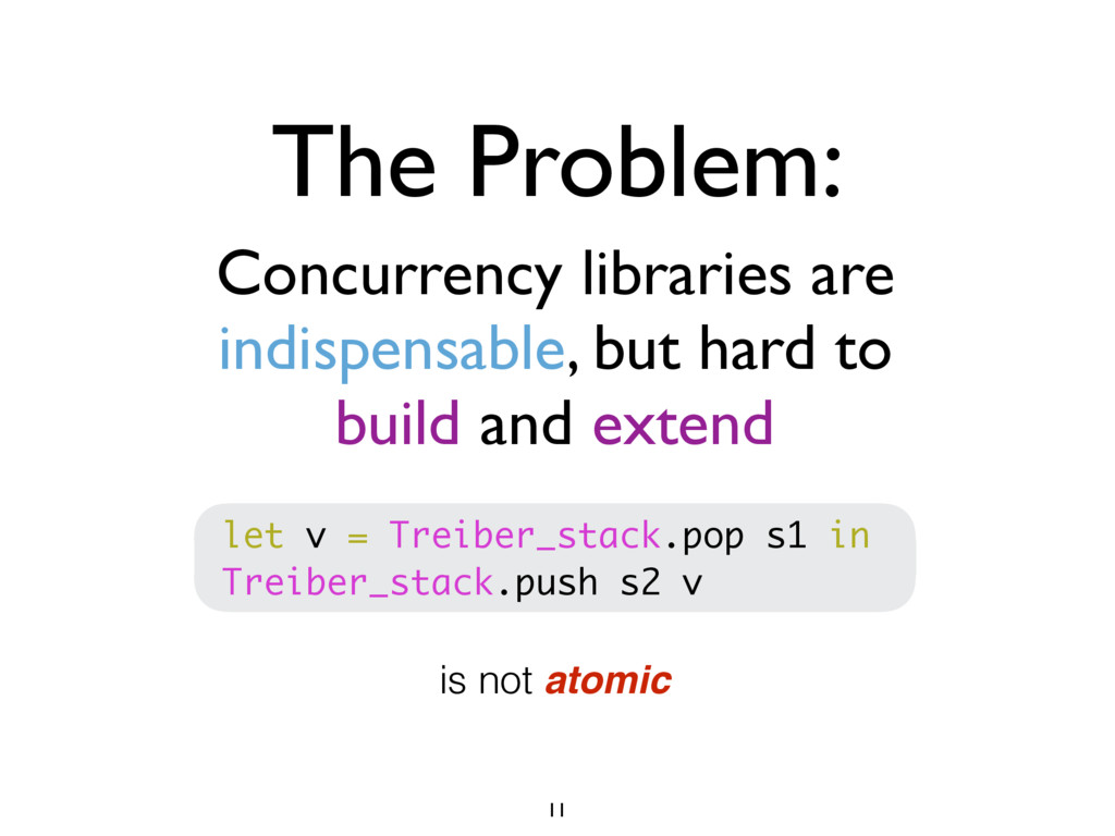 Concurrency libraries are indispensable, but ha...