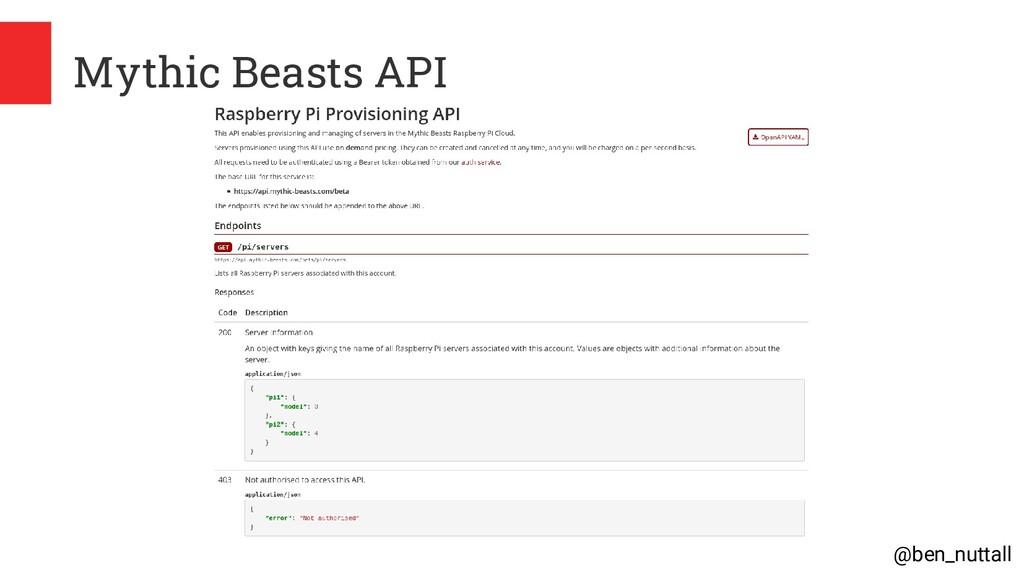 @ben_nuttall Mythic Beasts API