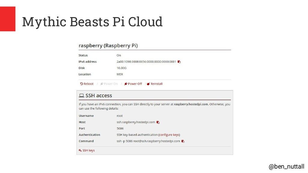 @ben_nuttall Mythic Beasts Pi Cloud