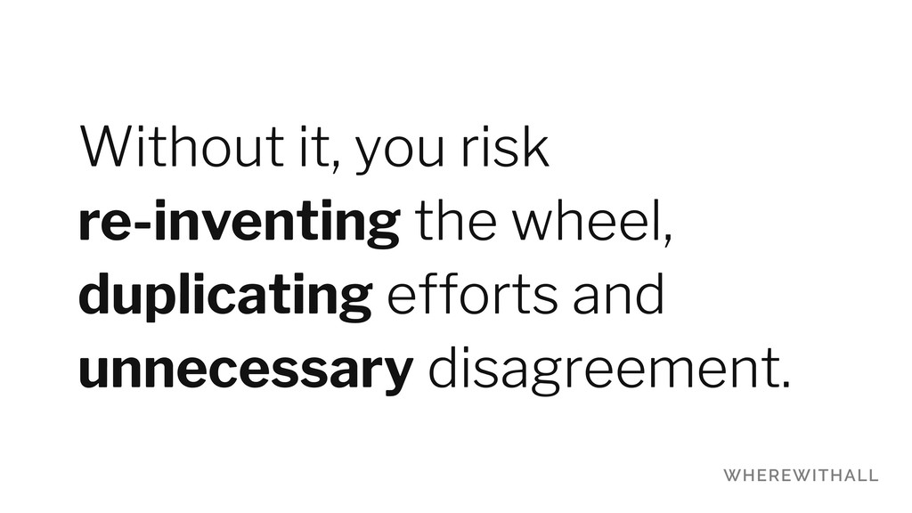 Without it, you risk 