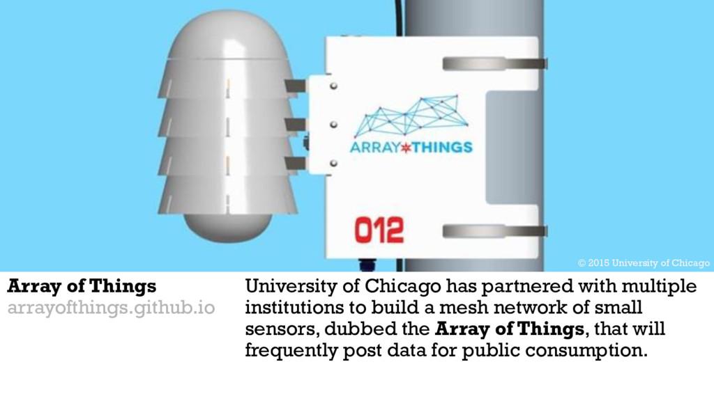 Array of Things arrayofthings.github.io Univers...