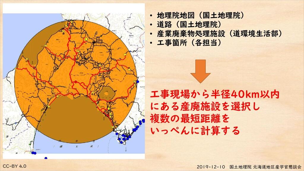 CC-BY 4.0 2019-12-10 国土地理院 北海道地区産学官懇談会 • 地理院地図(...