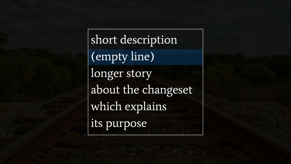 short description (empty line) longer story abo...