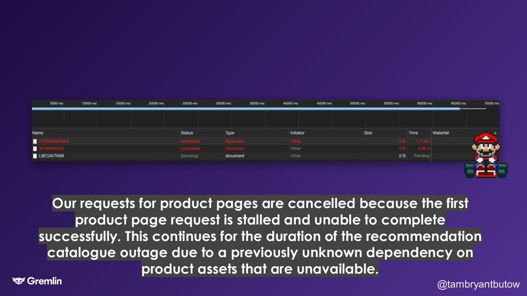 @tambryantbutow Our requests for product pages ...