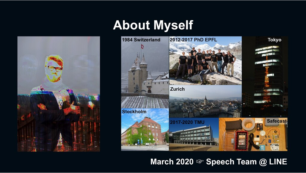 About Myself 1984 Switzerland 2012-2017 PhD EPF...