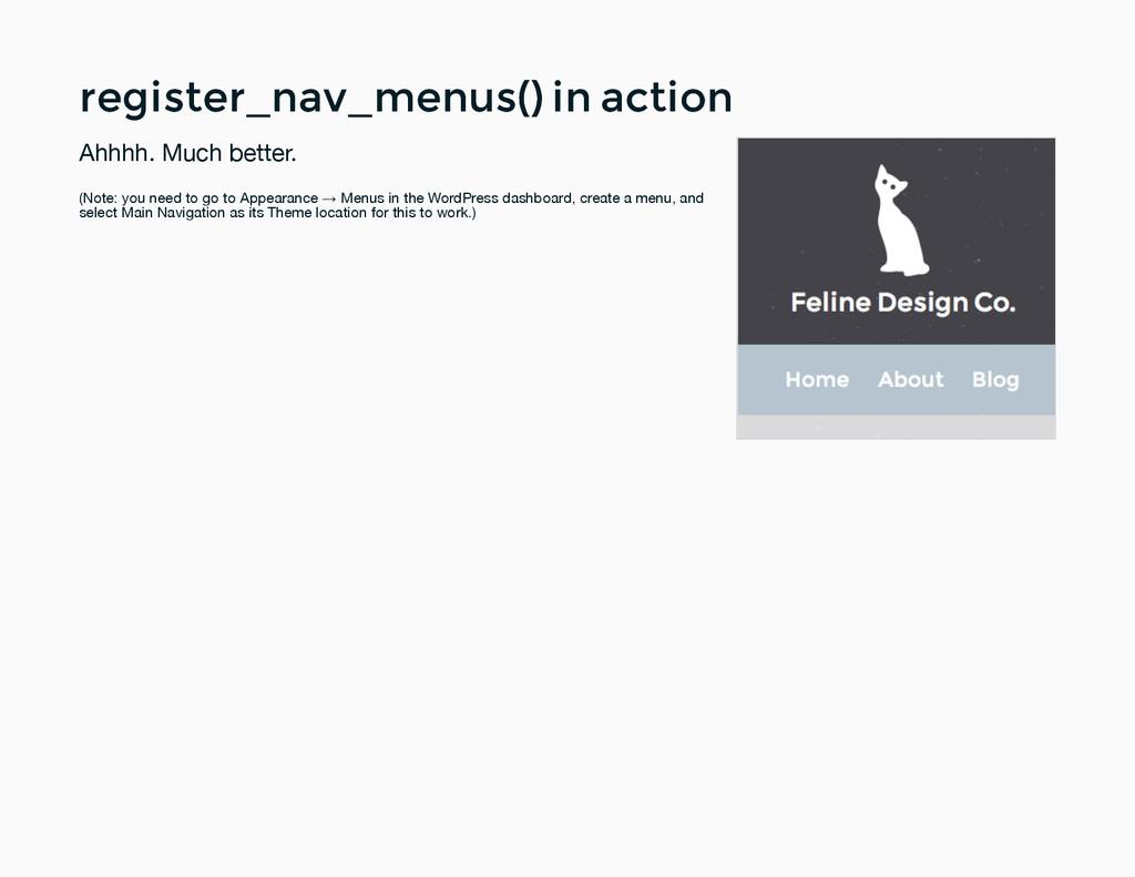 register_nav_menus() in action register_nav_men...