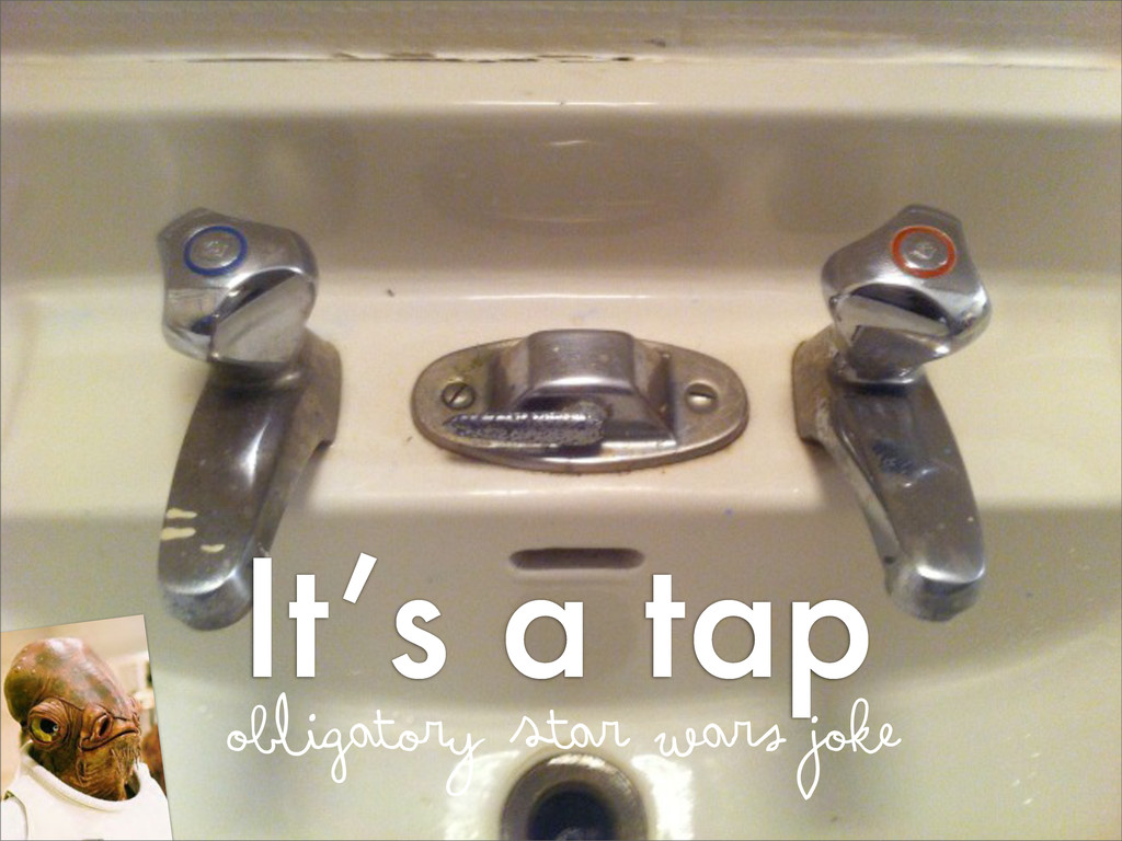 It's a tap obligatory Star wars joke