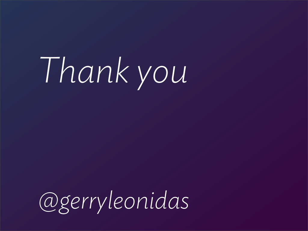 @gerryleonidas Thank you